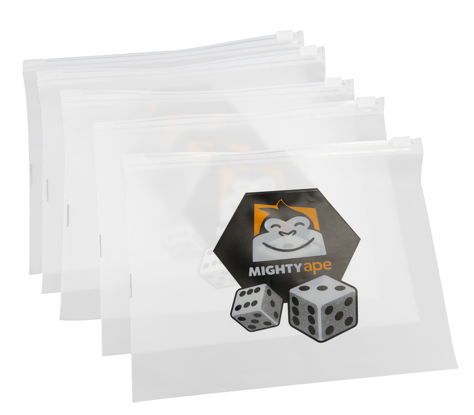 Mighty Ape Board Game Component Bags: 10 Pack - Large image