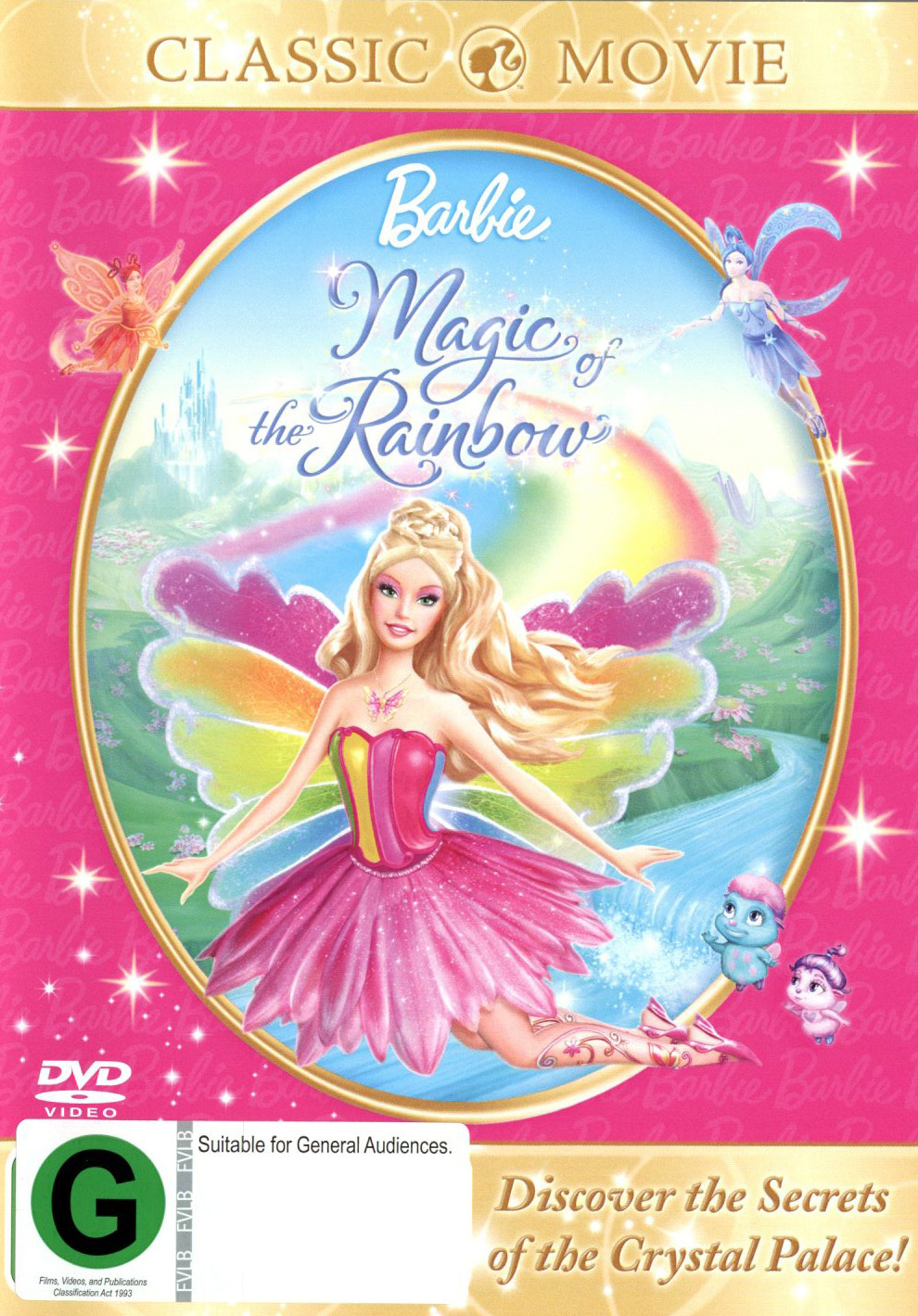 Barbie - Fairytopia: Magic Of The Rainbow on DVD image