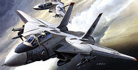 Academy F-14A Tomcat 1/144 Model Kit