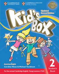 Kid's Box Level 2 Student's Book American English by Caroline Nixon image