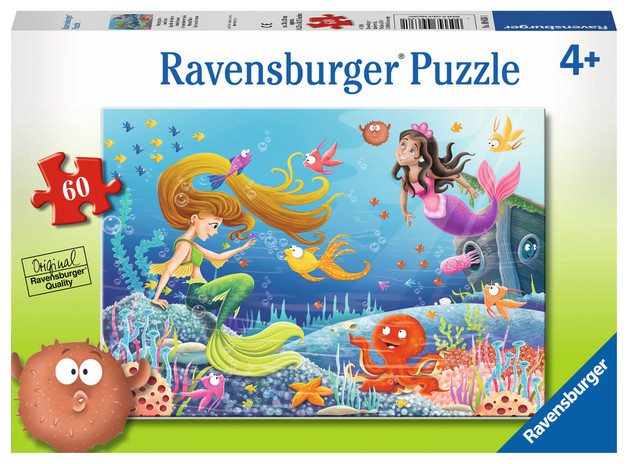 Ravensburger : Mermaid Tales Puzzle 60pc