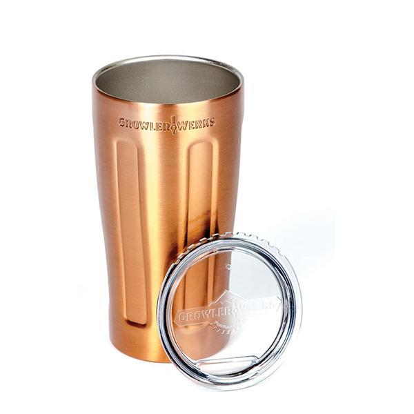 GrowlerWerks Insulated uPint - Copper (473ml)