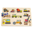 Hape Construction Site Wooden Peg Puzzle