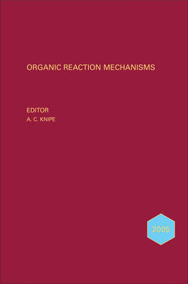 Organic Reaction Mechanisms 2005 image