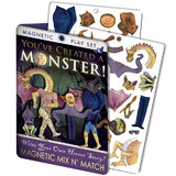 Unemployed Philosophers Guild - Magnetic Dress Up Monster Play Monster Play Set