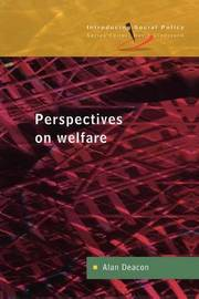 PERSPECTIVES ON WELFARE by Alan Deacon image