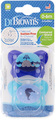 Dr. Brown's Stage 1 Dummie - 0-6 months - Blue (2 Pack)