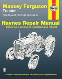 Massey Ferguson Tractor by Haynes Publishing