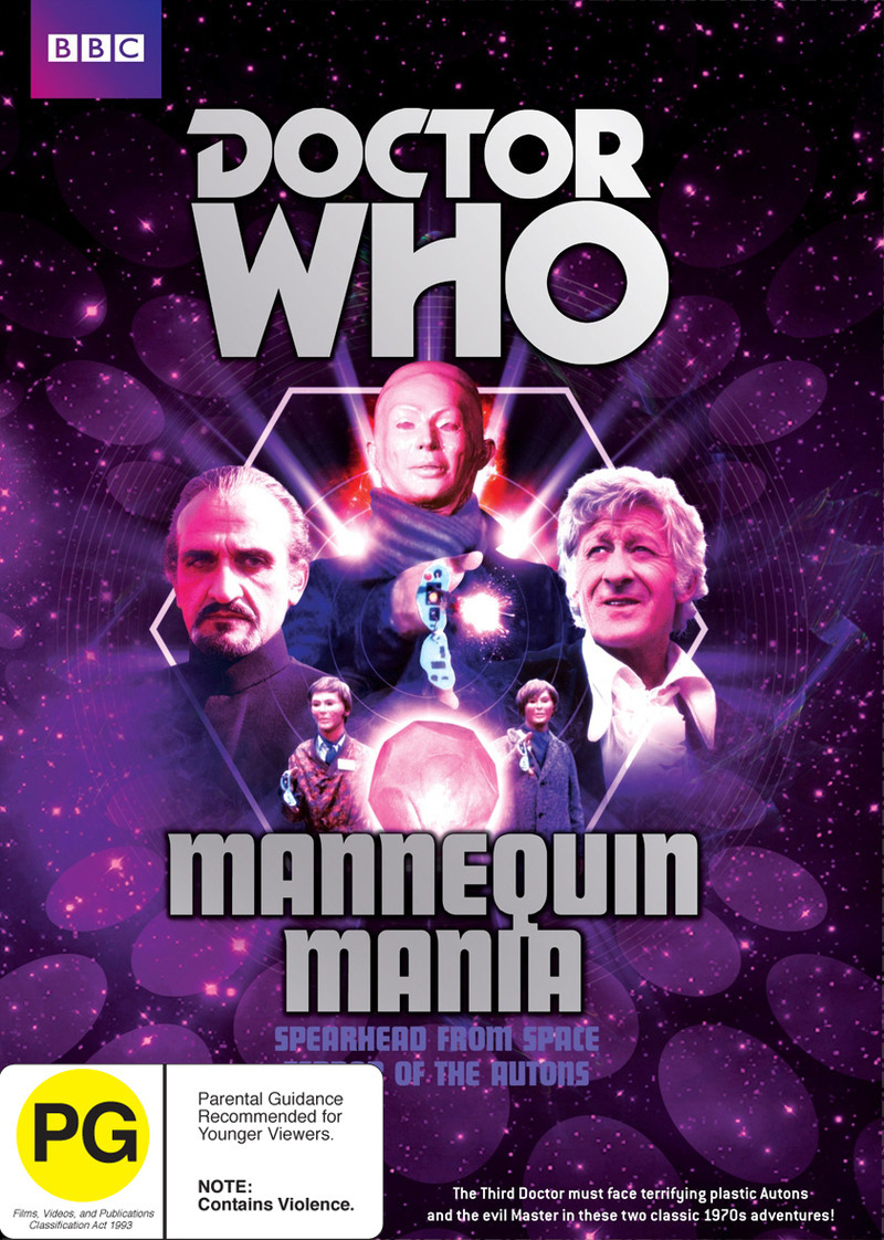 Doctor Who: Mannequin Mania on DVD image