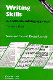 Writing Skills Teacher's book: A Problem-Solving Approach by Norman Coe image