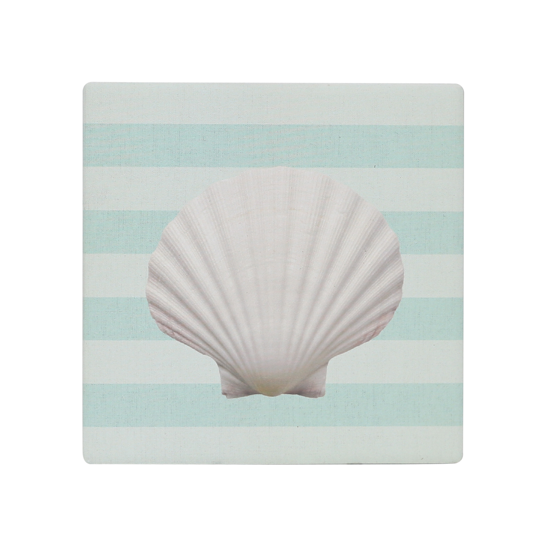 Splosh: Coastal Blue Ceramic Coaster image