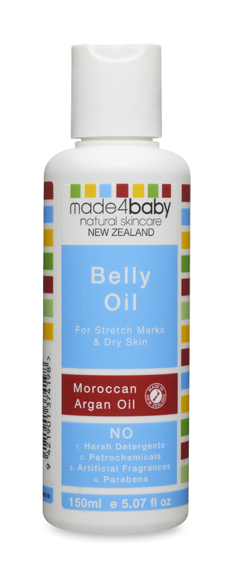 Made4Baby: Belly Oil - Moroccan Argan Oil (150ml)