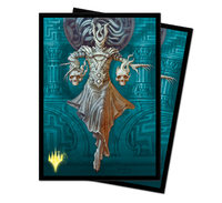 Ultra Pro: Magic The Gathering Deck Protector: Theros Beyond Death Alt Art Ashiok, Nightmare Muse image