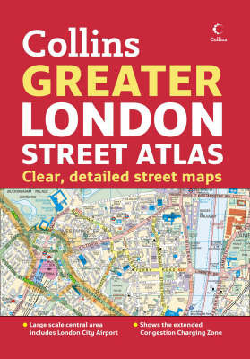 Greater London Street Atlas by HarperCollins image