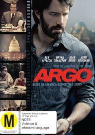 Argo on DVD