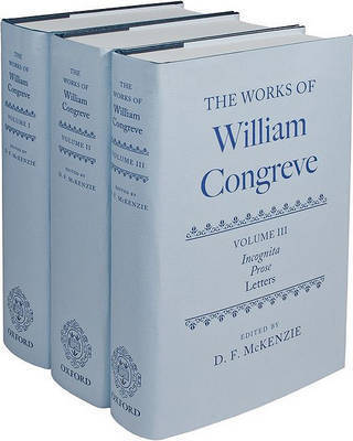 The Works of William Congreve