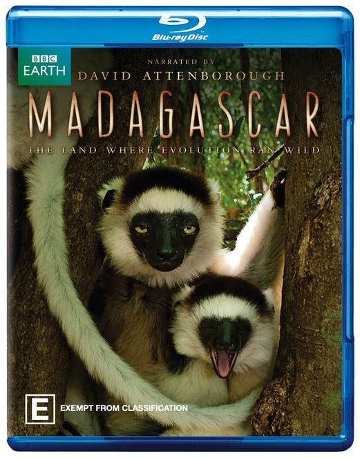Madagascar on Blu-ray