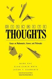 Discrete Thoughts by Mark Kac