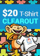 $20 T-Shirt Clearout