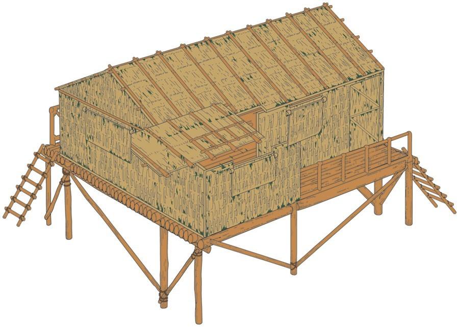 Airfix 1:32 Bamboo House - Model Kit