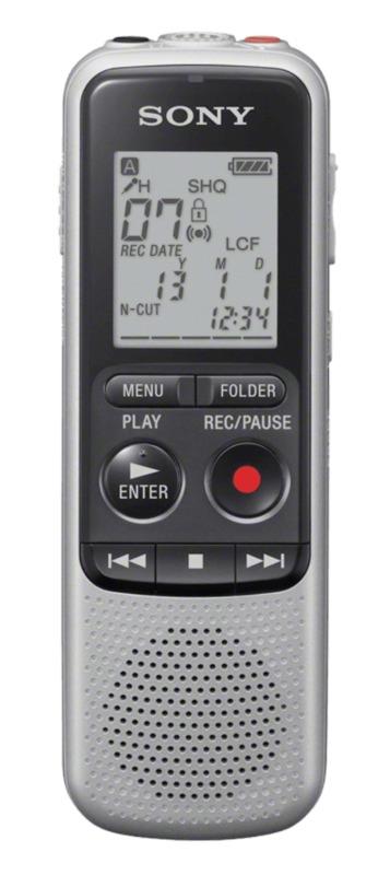 Sony: ICDBX140 Digital Voice Recorder (4GB)