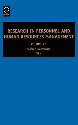 Research in Personnel and Human Resources Management image
