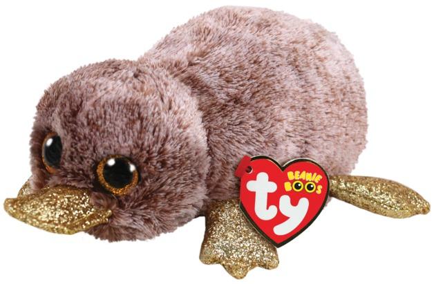 Ty Beanie Boo: Brown Platypus - Small Plush