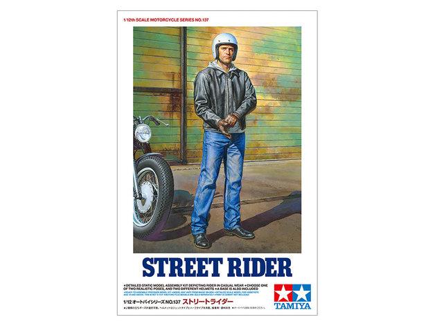 Tamiya: 1/12 Street Rider Figure - Model Kit