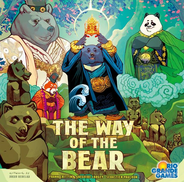 The Way of the Bear - Board Game