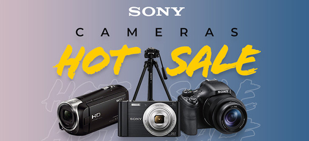 Sony Camera's UP TO %30 off!