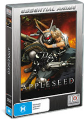 Appleseed The Movie - Standard Edition on DVD