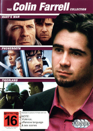 Colin Farrell Collection (3 Disc Set) on DVD