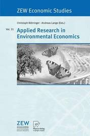 Applied Research in Environmental Economics image