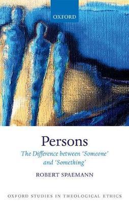 Persons by Robert Spaemann