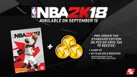 NBA 2K18 for PS3 image