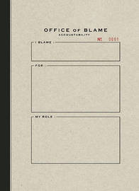 Office of Blame Accountability by Geoffrey Cunningham image