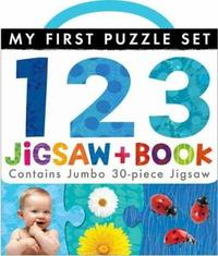 My First Puzzle Set: 123 Jigsaw and Book by Little Tiger Press