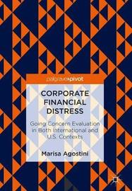 Corporate Financial Distress by Marisa Agostini