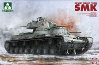 Takom: 1/35 Soviet Heavy Tank SMK Model Kit