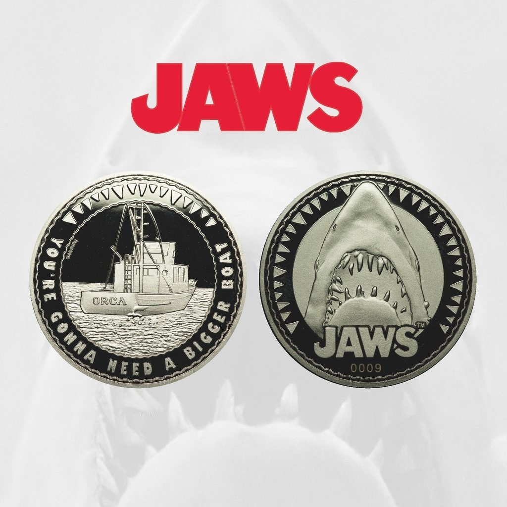 Jaws: Collectible Coin - You're Gonna Need A Bigger Boat image
