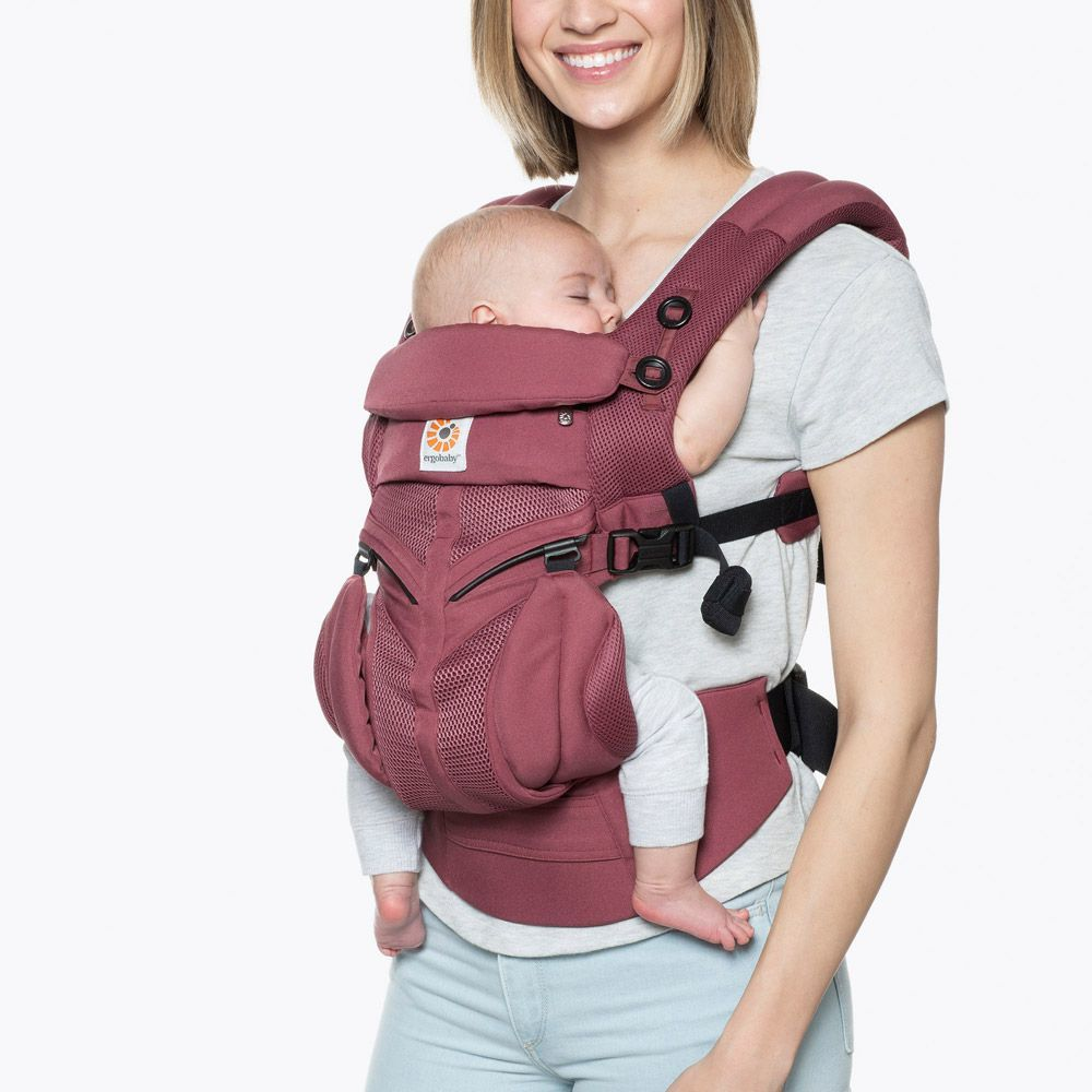 Ergobaby: Omni 360 - Cool Air Mesh All-In-One Baby Carrier (Plum) image
