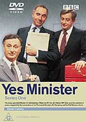 Yes Minister - Series 1 on DVD