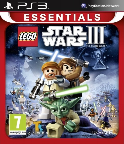 Lego Star Wars III: The Clone Wars (PS3 Essentials) for PS3 image