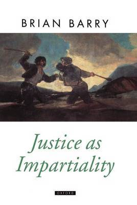 Justice as Impartiality by Brian Barry image