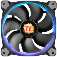120mm ThermalTake Riing 12 RGB 256 Colors High Static Pressure LED Radiator Fan (3x Fan Pack)