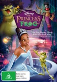 The Princess and the Frog on DVD
