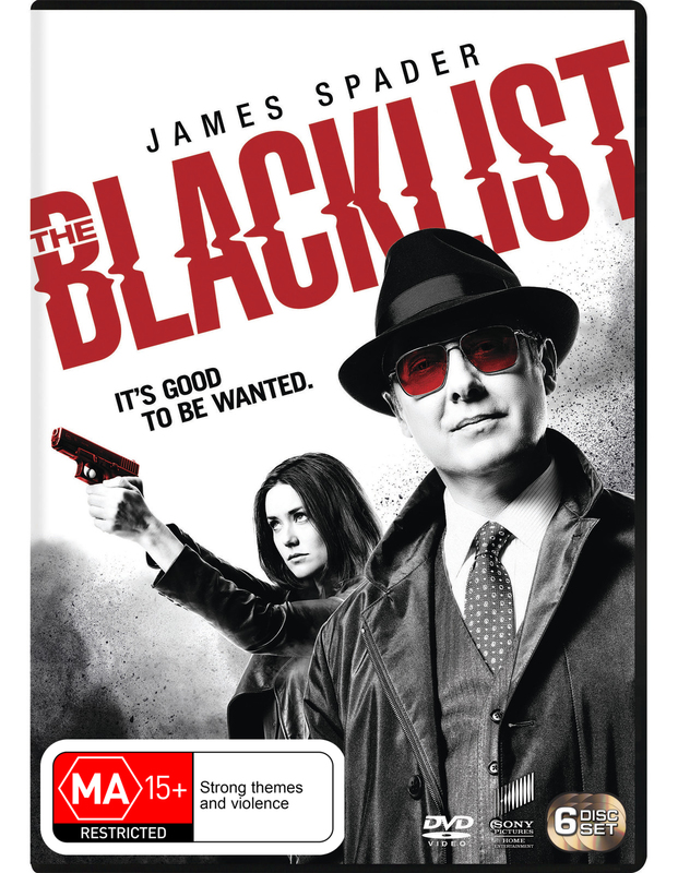 The Blacklist Season 3 on DVD