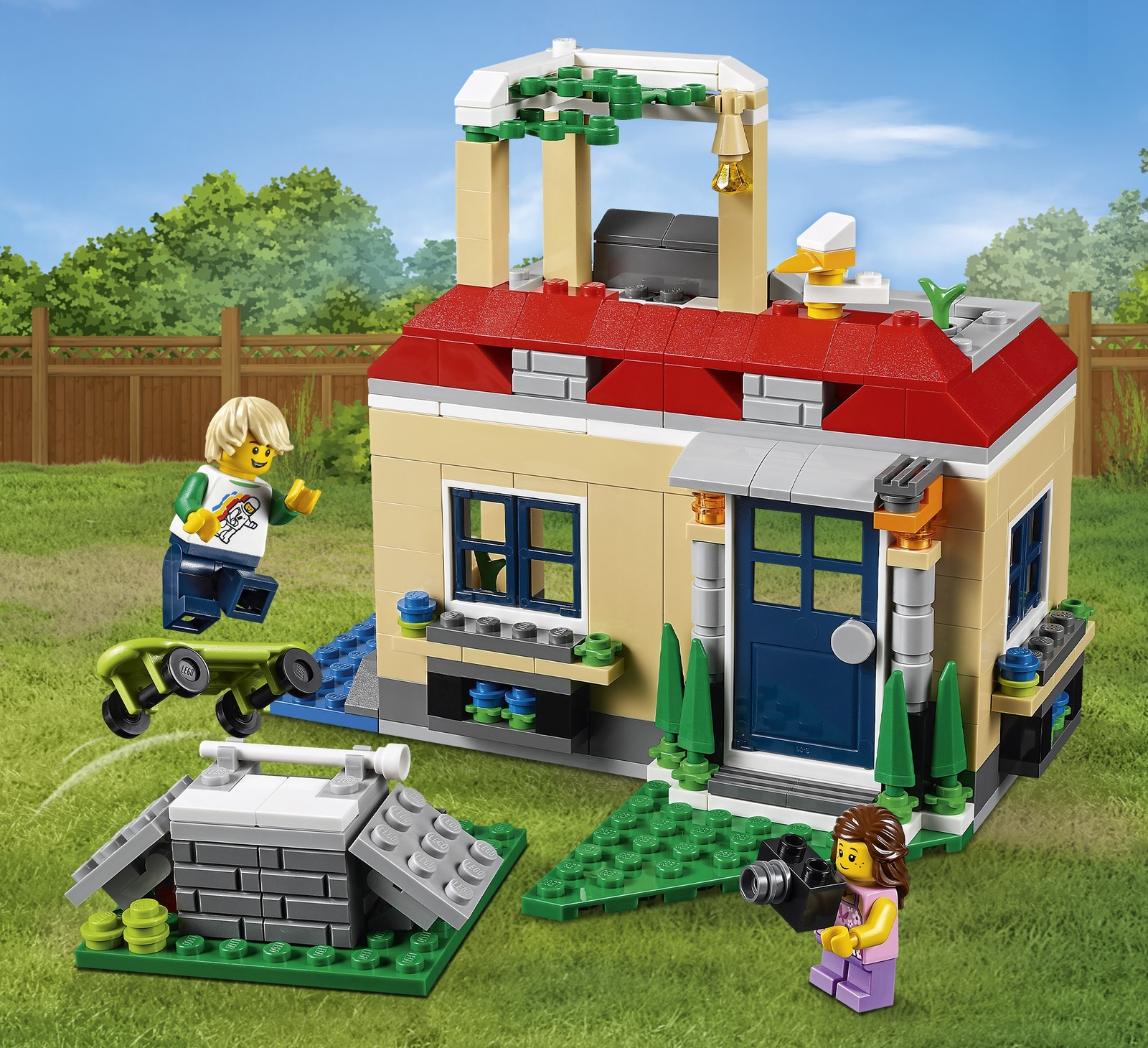 LEGO Creator - Poolside Holiday (31067) image