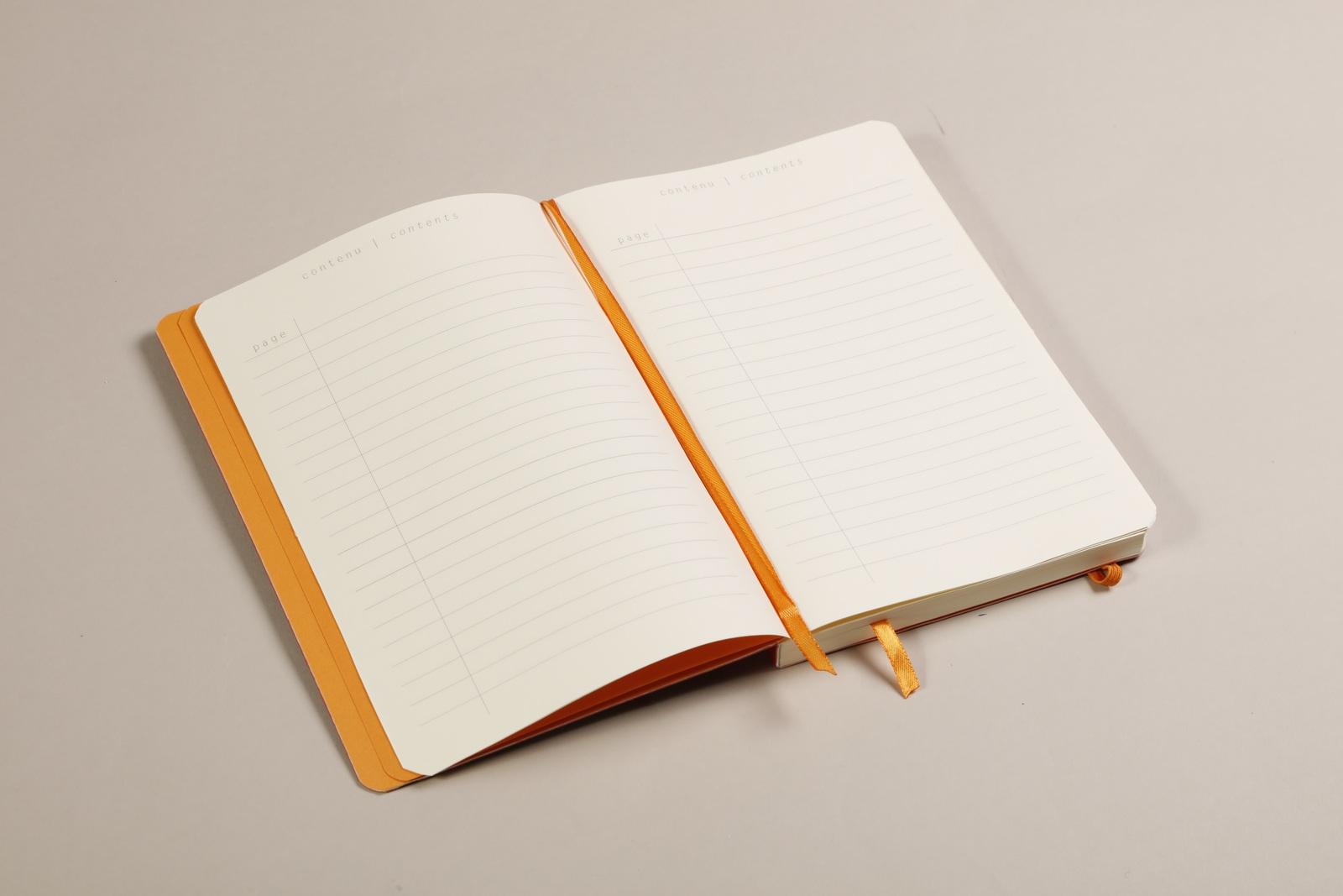Rhodiarama A5 Goalbook Dot Grid - Poppy image