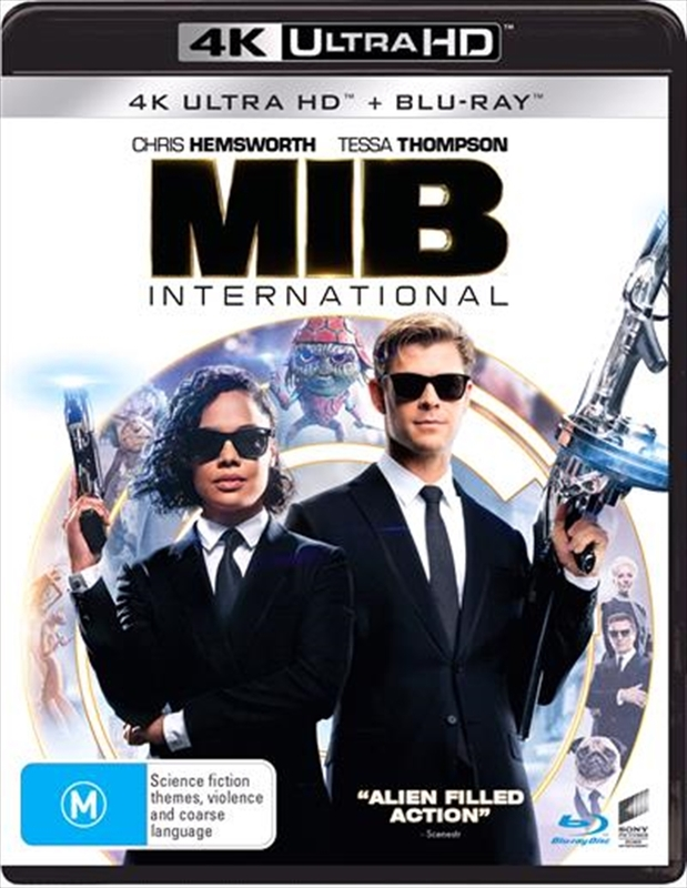 Men In Black: International on UHD Blu-ray